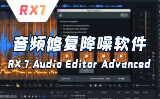 音频修复软件 RX7 Audio Editor Advanced中文版