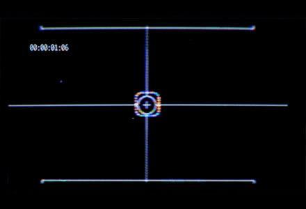 50+CRT显示器监控画面边框元素界面动画