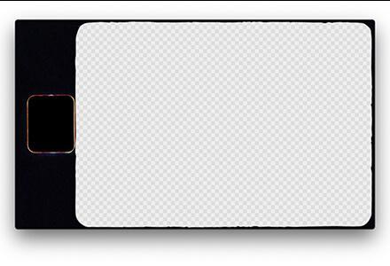 4K胶片风格边框素材
