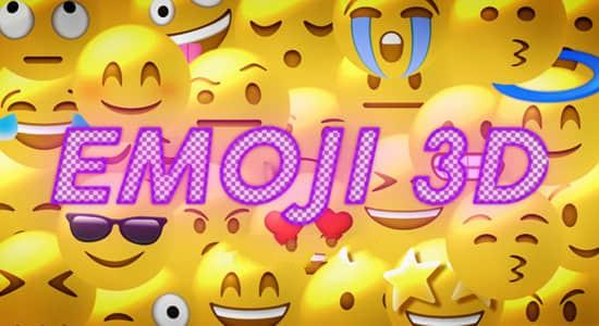 27个3D可爱卡通社交媒体聊天Emoji表情动画 有透明通道