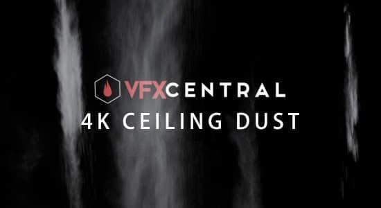36个灰尘粉末掉下洒落特效动画4K视频素材 VFXCentral – Ceiling Dust