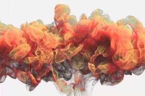 6款中国风烟雾LOGO演绎片头会声会影模板