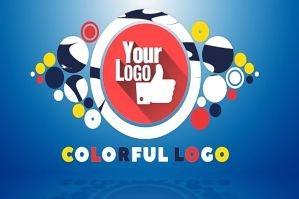 彩色图形动态展示片头PR模板