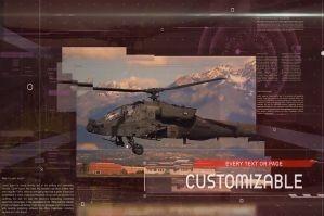 数字科幻视频包装幻灯片展示PR模板