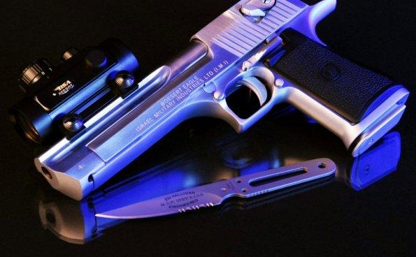 枪械悬疑惊悚片头模板