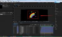 AE彩虹特效制作教程(AE如何制作动画的彩虹)